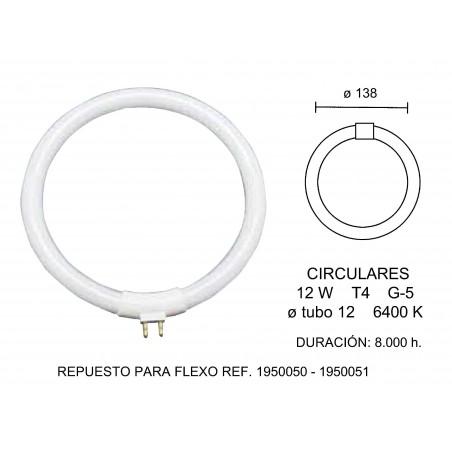 TUBO FLUORESCENTE CIRCULAR T4 12W 2600220