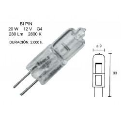 LAMP HALOGEN 2 PIN 20W 12V...