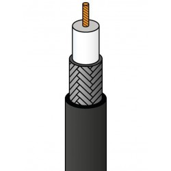 CABLE RG59/75oHM 6.10mm 100M WIR9061