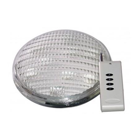LAMPARA PISCINA DE LED PAR56 BAJO AGUA 9X3W CON MANDO RGB