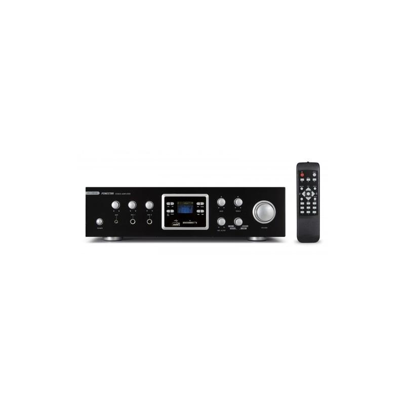AMPLIFICADOR 2X60W FM USB AS-123RUB