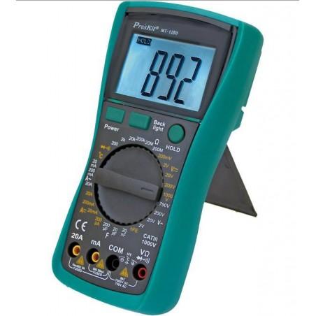 DIGITAL MULTIMETER 3 1/2 CATIII 1000V MUL1280