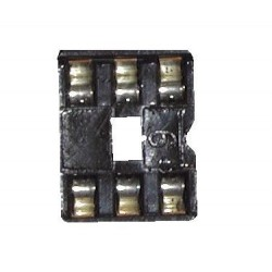 IC SOCKET 6 PINS 3X2