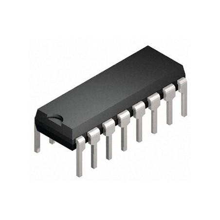 SN74LS191N  CMOS, DIP16, 74191, DM74LS191N