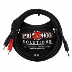 CABLE JACK 3.5mm A 2 RCA, PBS3R03