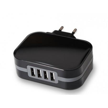 CARGADOR USB 4 PUERTOS 6.8A, tqwc-1s04