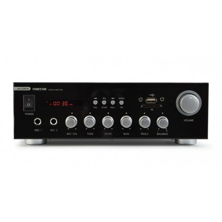 AMPLIFICADOR estéreo Hi-Fi karaoke, AS30RUB
