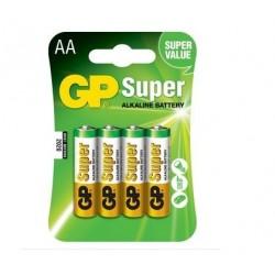 PILA ALCALINA GP SUPER LR6 BLISTER
