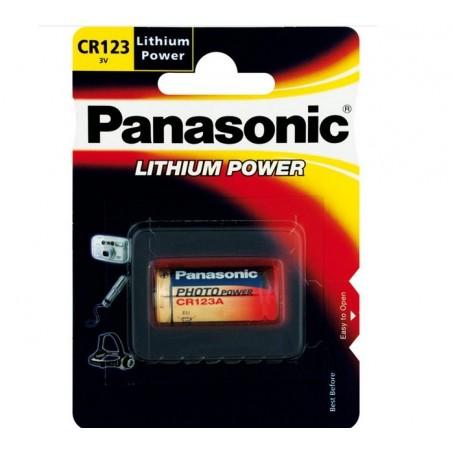CR123 PILA LITHIUM 3V PANASONIC PLI051