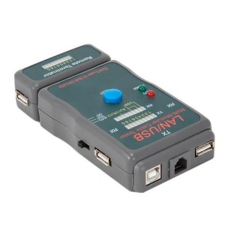 CABLEXPERT TESTADOR CABLES UTP/STP/USB NCT2 CAB03196