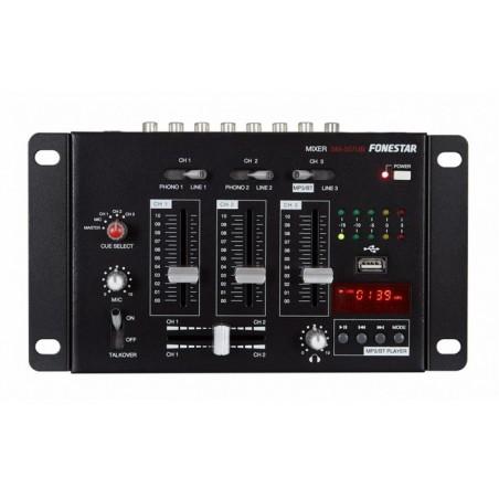 SM507UB MINI MEZCLADOR BT USB FONESTAR