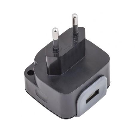 CAR249 ALIMENTADOR CARGADOR 240-110V 5V-2400MA USB
