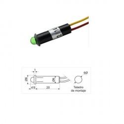 Led light 5mm 12V Green,...