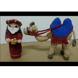 Rey Melchor y Camello