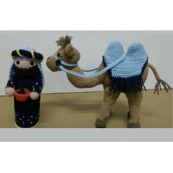 King Gaspar Birth and Camel