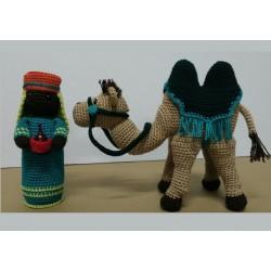 Rey Baltasar y Camello