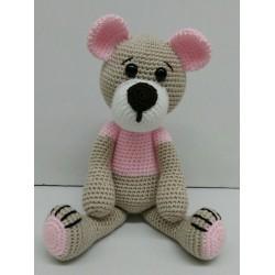 Teddy bear amigurumi fluffy...