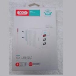 3 USB charger 1,58A WHITE...