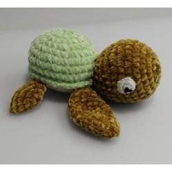 Turtle amigurumi fluffy toy