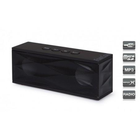 ALTAVOZ PORTATIL 2X 3W USB-MICRO-SD- RADIO-AUX RU40N
