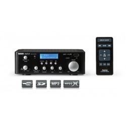 Amplificador Hi-Fi stereo con USB / SD AS 24U