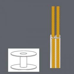 CABLE ALTAVOZ 2x0,35mm 100M...