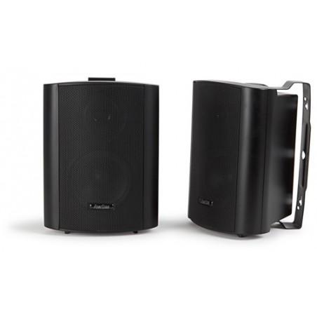 Pareja de bafles Hi-Fi. 40 W maximo, 20 W RMS negro
