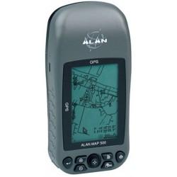 RECEPTOR GPS GRIS + MEMORIA + CABLE ALAN MAP500