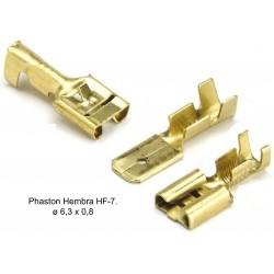 FASTON FEMALE 6.3mm HF7