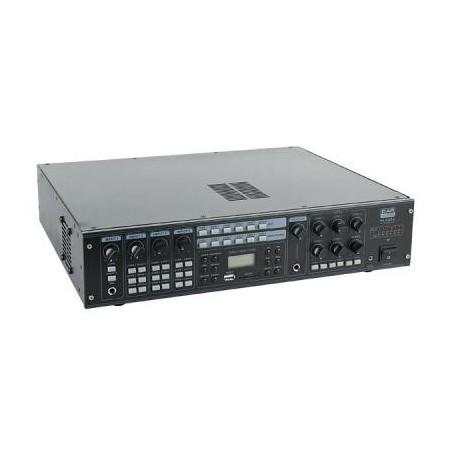 ETAPA DE POTENCIA 100 V, 6 x 30 W CON SINTONIZADOR Y USB