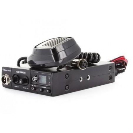 ALAN 100 PLUS móvil CB 40 canales AM/FM, 4W