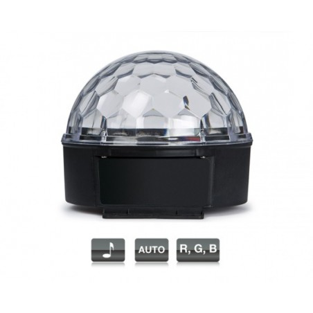 LED-MINIBALL21 MINI ESFERA 6 LED 3W