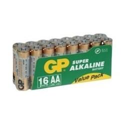 Battery AA SUPER ALKALINE LR06-BOX16GP G221