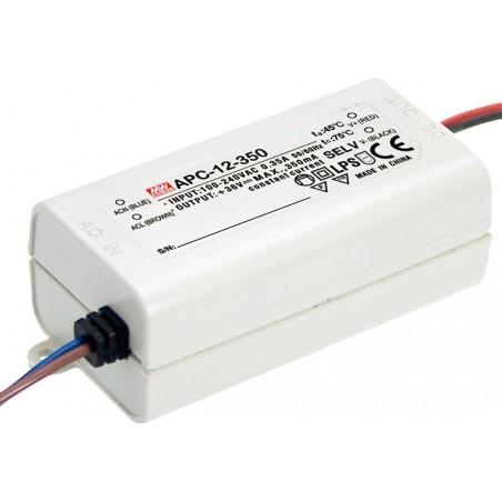 TRANSFORMADOR APC12350 12W LED90 FURSTANDARD 9V a 36V