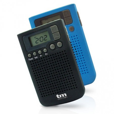 RADIO DIGITAL AM/FM AZUL TMRAD014A