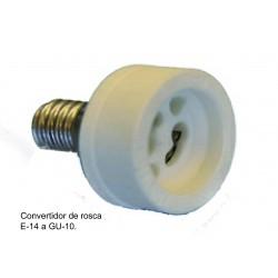 CONVERTIDOR E14 A GU10...