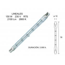 HALOGEN LINEAL LAMP 78mm150W