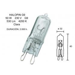HALOGEN LAMP G9 28W, 220V-240V