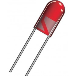 DIODE LED 5mm RED DIL5R