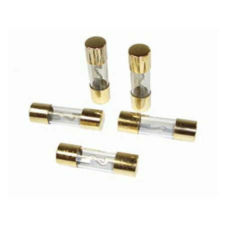 KIT 5 FUSIBLES 40A GRAN CARGA  TERM. ORO 71062
