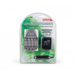 CARGADOR PILAS AAA/AA 2/4 CP80P