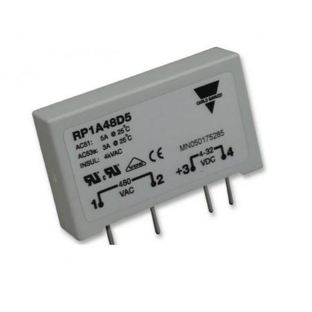 RP1A48D5 SSR, 4-32VDC, 5A, 480VAC MONTAJE PCB