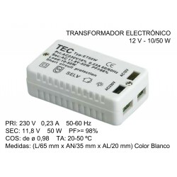ELECTRONIC TRANSFORMER 12V...