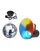 Mirror balls and motors