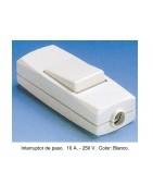 Interruptores, Conmutadores y Pulsadores Eléctricos
